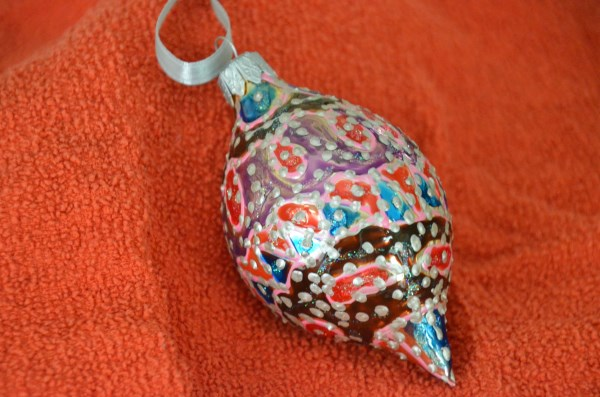 Large (3) teardrop Limited ornament