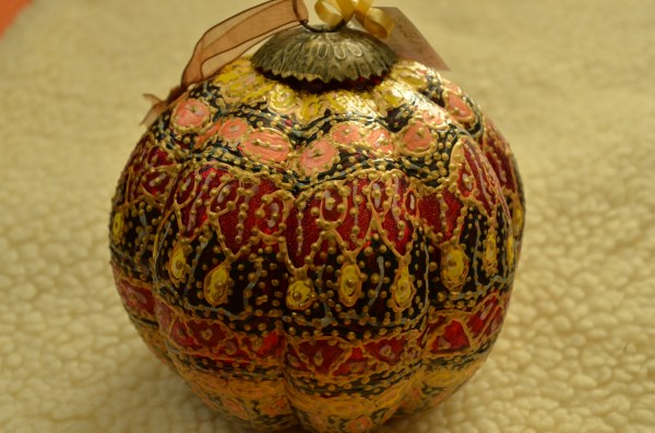 October Ornament of month