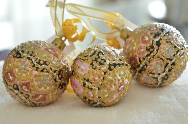 Shatterproof Pastel Ball ornaments